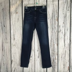7 For all mankind blue jeans 14 Slimmy